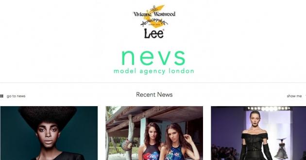 Nevs Models: Web copy