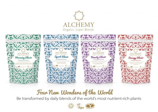 Alchemy: Packaging, website, PR